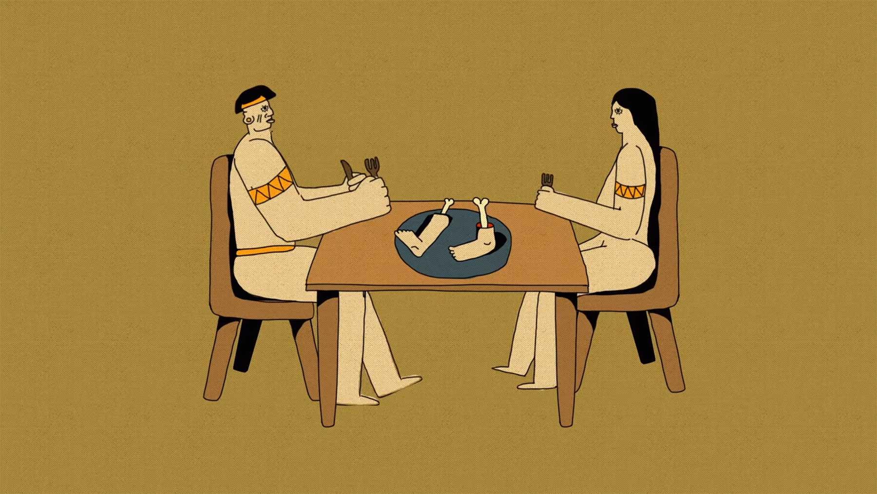 Die Geschichte des menschlichen Kannibalismus