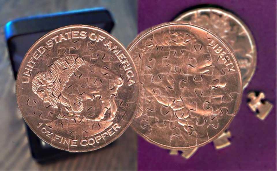 Aus Münzen gemachte Puzzles puzzlemuenzen_02