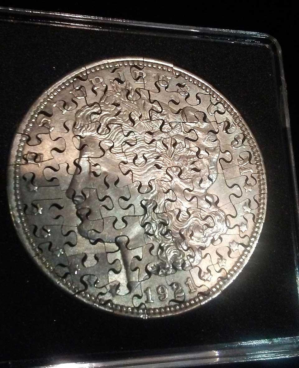 Aus Münzen gemachte Puzzles puzzlemuenzen_03