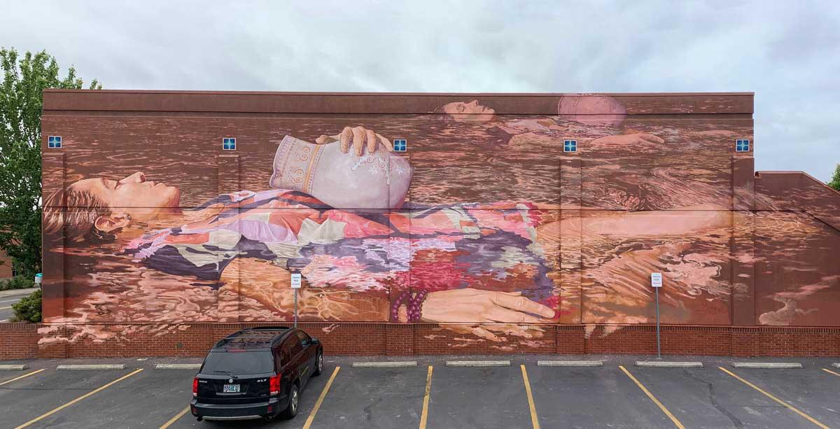 Neue gigantische Murals von Fintan Magee Fintan-Magee-street-art-2019_04