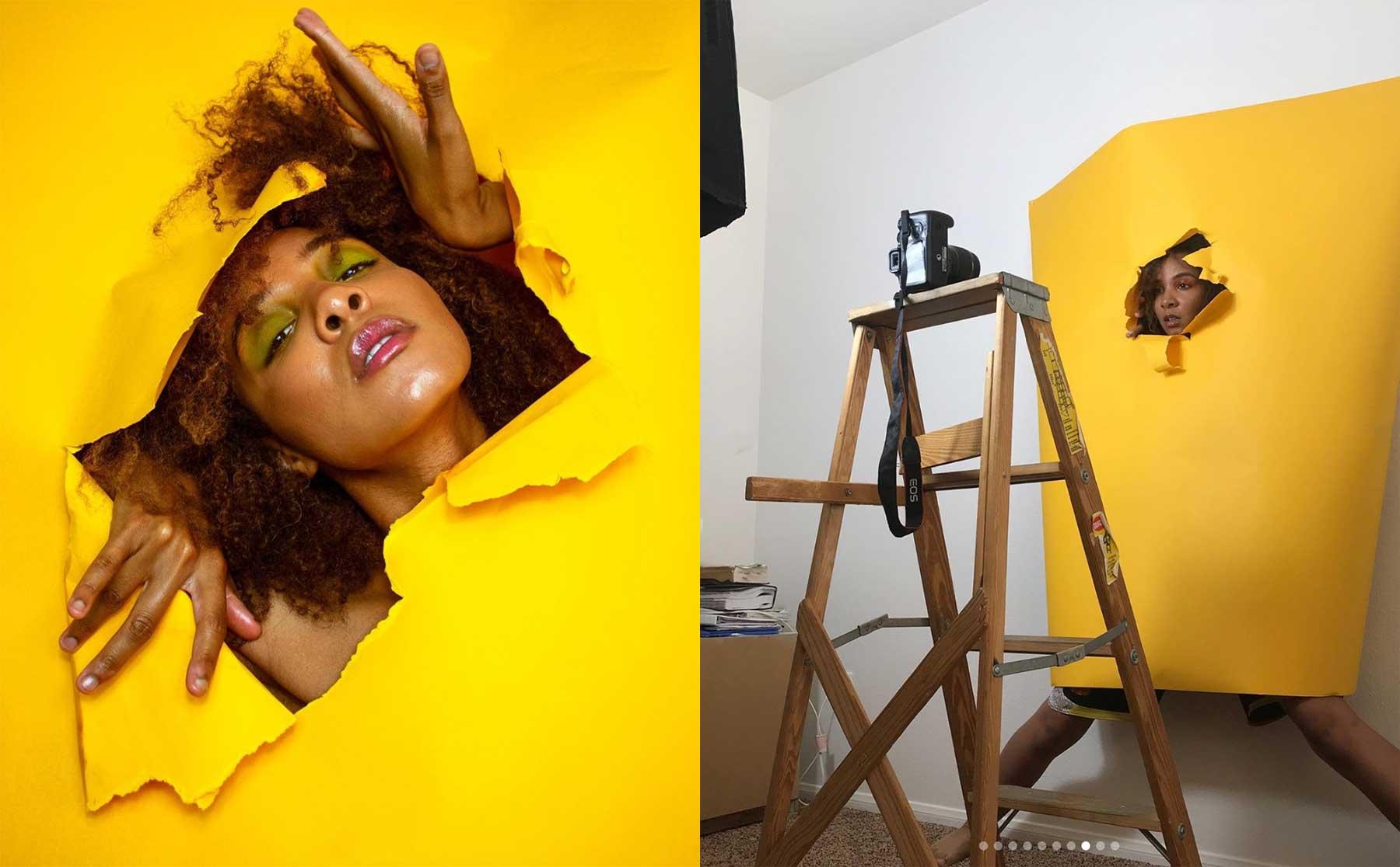 Instagramerin zeigt, wie sie kreative Kulissen für ihre Selbstportraits erstellt Kimberly-Douglas-kihmberlie-making-of-selbstportraits_02