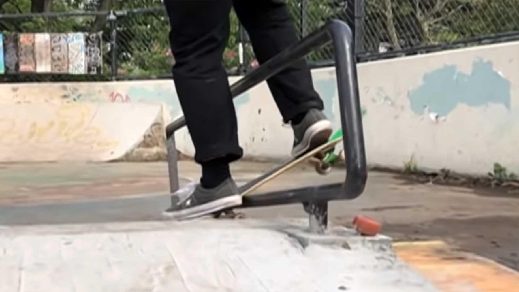 Neue skurrile Tricks von Skateboarder Matt Tomasello