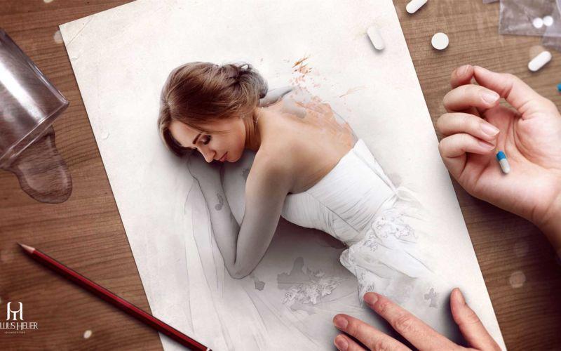 Fotografie trifft Zeichnung bei Tullius Heuer