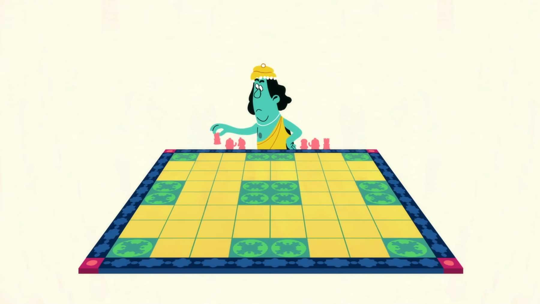 Eine animierte Geschichte des Schach-Spiele(n)s