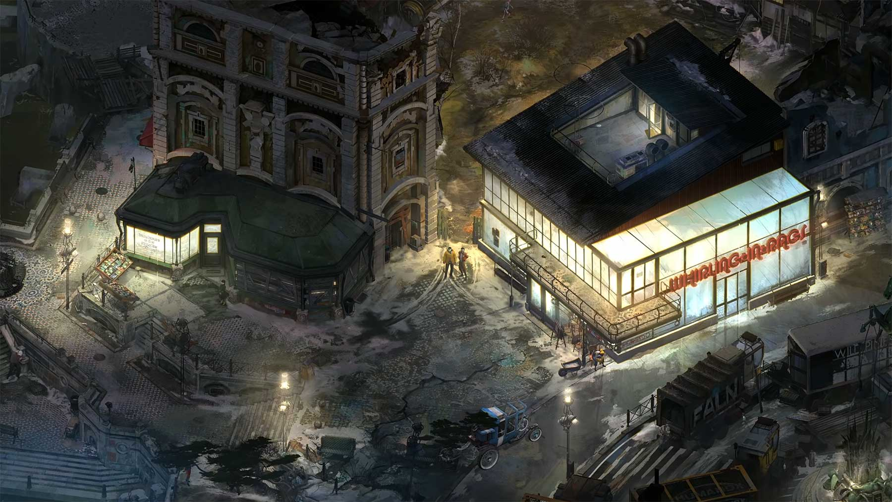 "Trailer zum Open World-RPG ""Disco Elysium"""