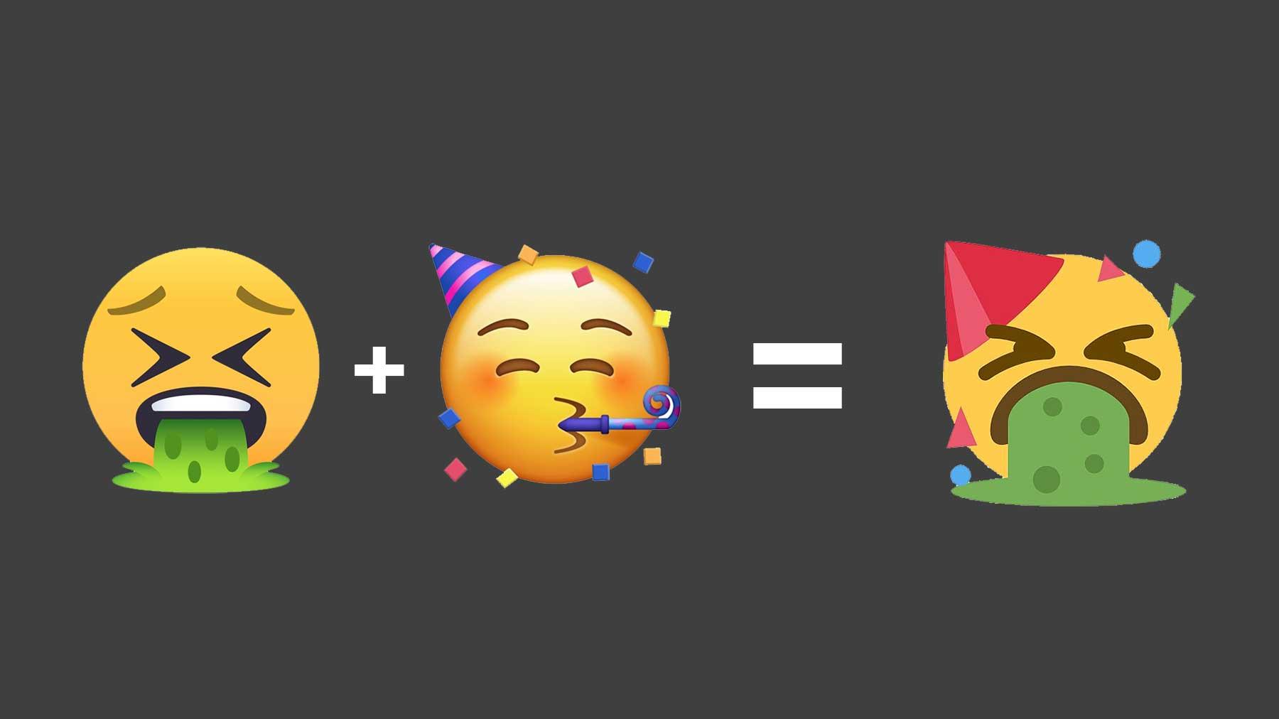 """Der """"Emoji Mashup Bot"""" vermengt klassische Emojis"""
