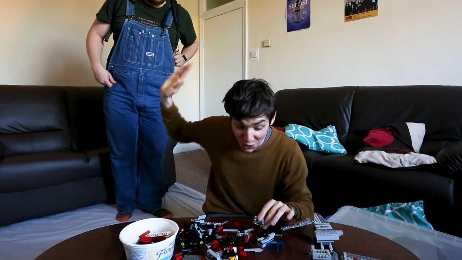 Ein etwas anderes LEGO-Aufbau-Timelapse-Video…