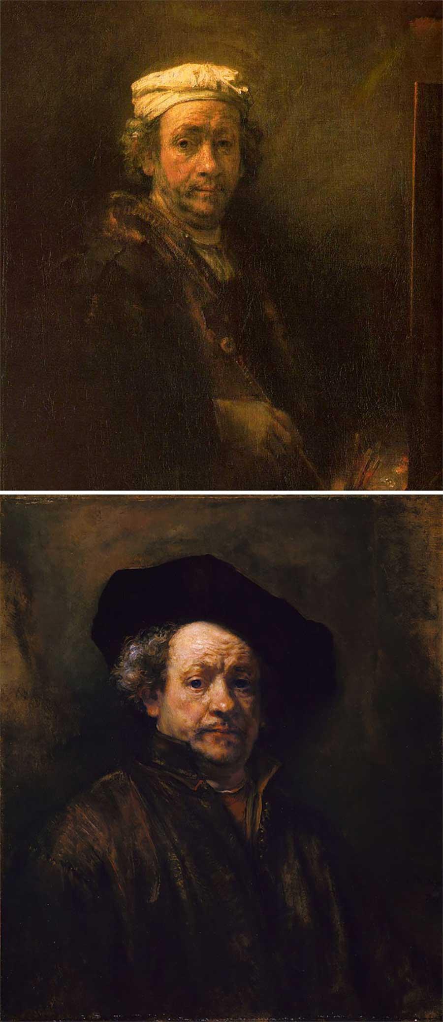 Ulkige Merkmale, woran man erkennen kann, welcher Künstler ein Gemälde gemalt hat gemaelde-malern-zuordnen-fun_02