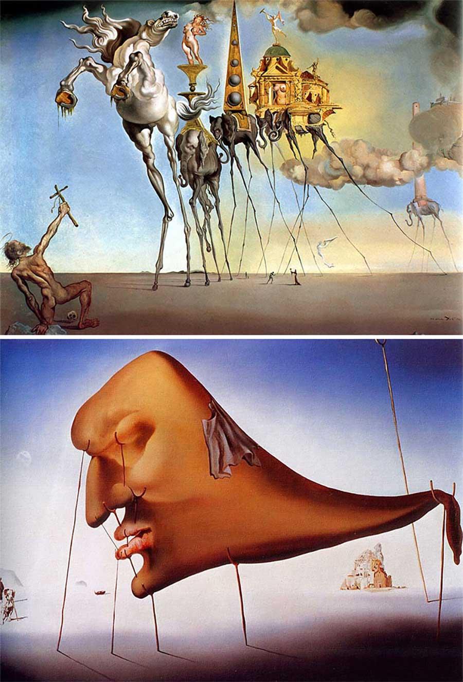 Ulkige Merkmale, woran man erkennen kann, welcher Künstler ein Gemälde gemalt hat gemaelde-malern-zuordnen-fun_03