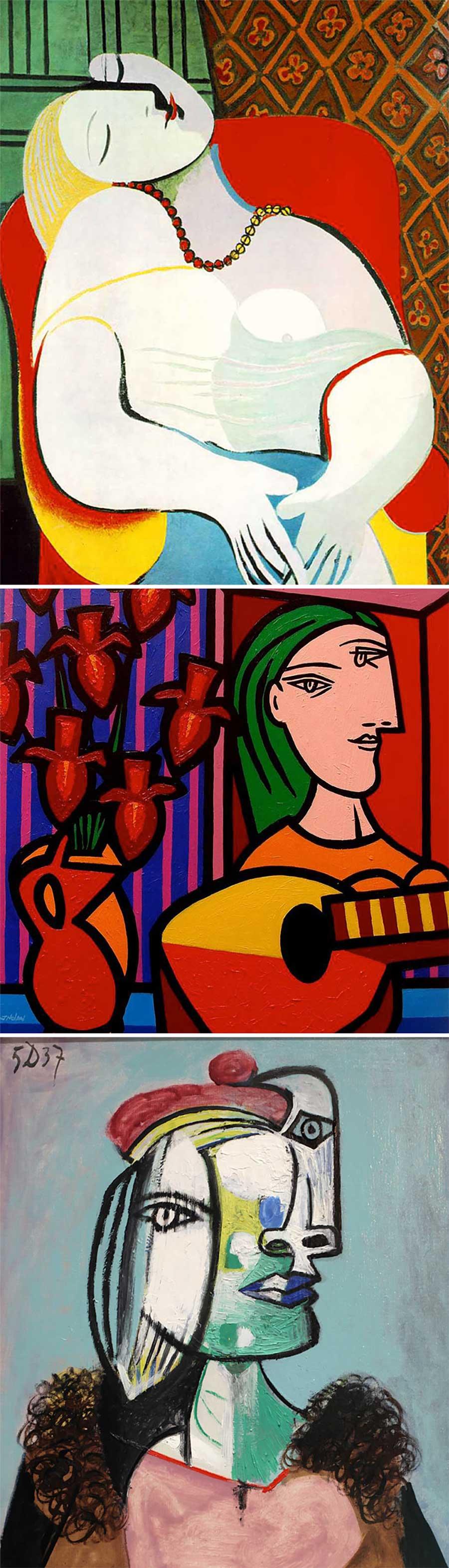 Ulkige Merkmale, woran man erkennen kann, welcher Künstler ein Gemälde gemalt hat gemaelde-malern-zuordnen-fun_05