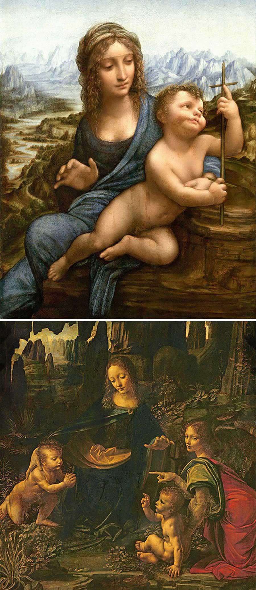 Ulkige Merkmale, woran man erkennen kann, welcher Künstler ein Gemälde gemalt hat gemaelde-malern-zuordnen-fun_06