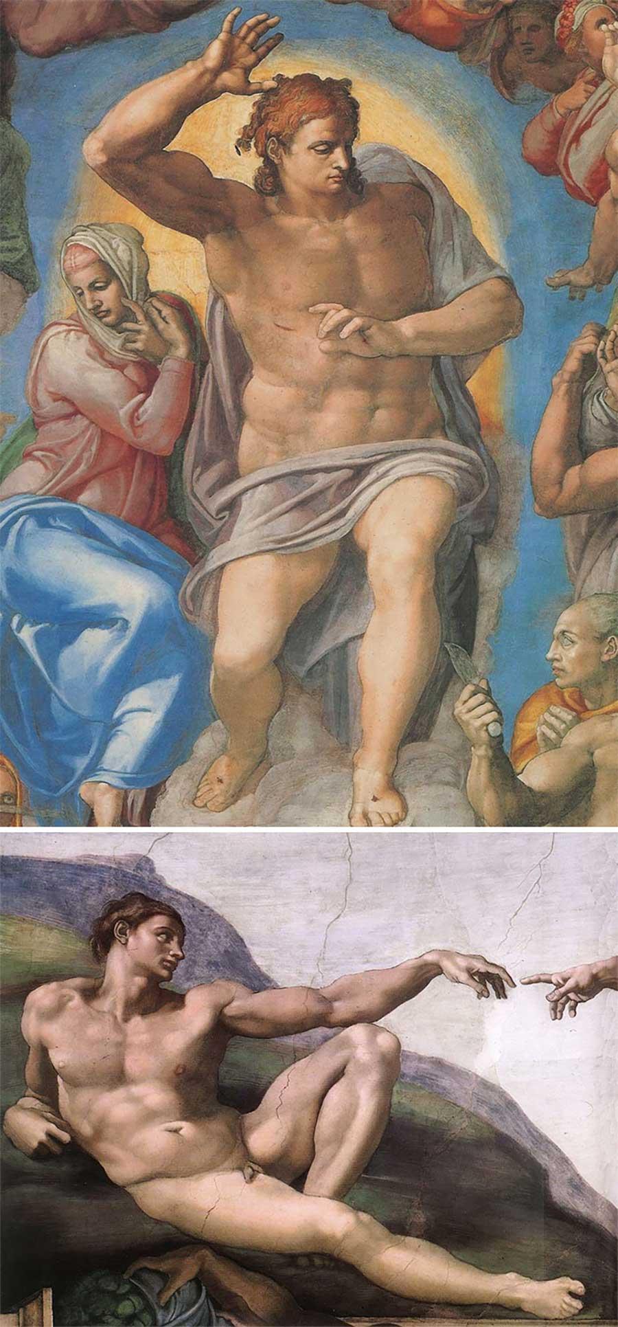 Ulkige Merkmale, woran man erkennen kann, welcher Künstler ein Gemälde gemalt hat gemaelde-malern-zuordnen-fun_10