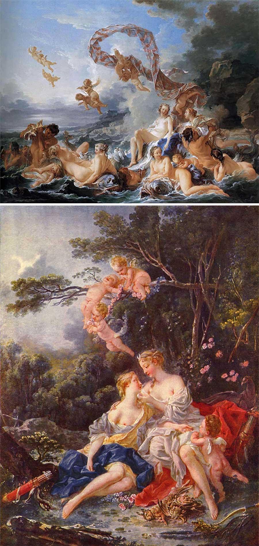 Ulkige Merkmale, woran man erkennen kann, welcher Künstler ein Gemälde gemalt hat gemaelde-malern-zuordnen-fun_19