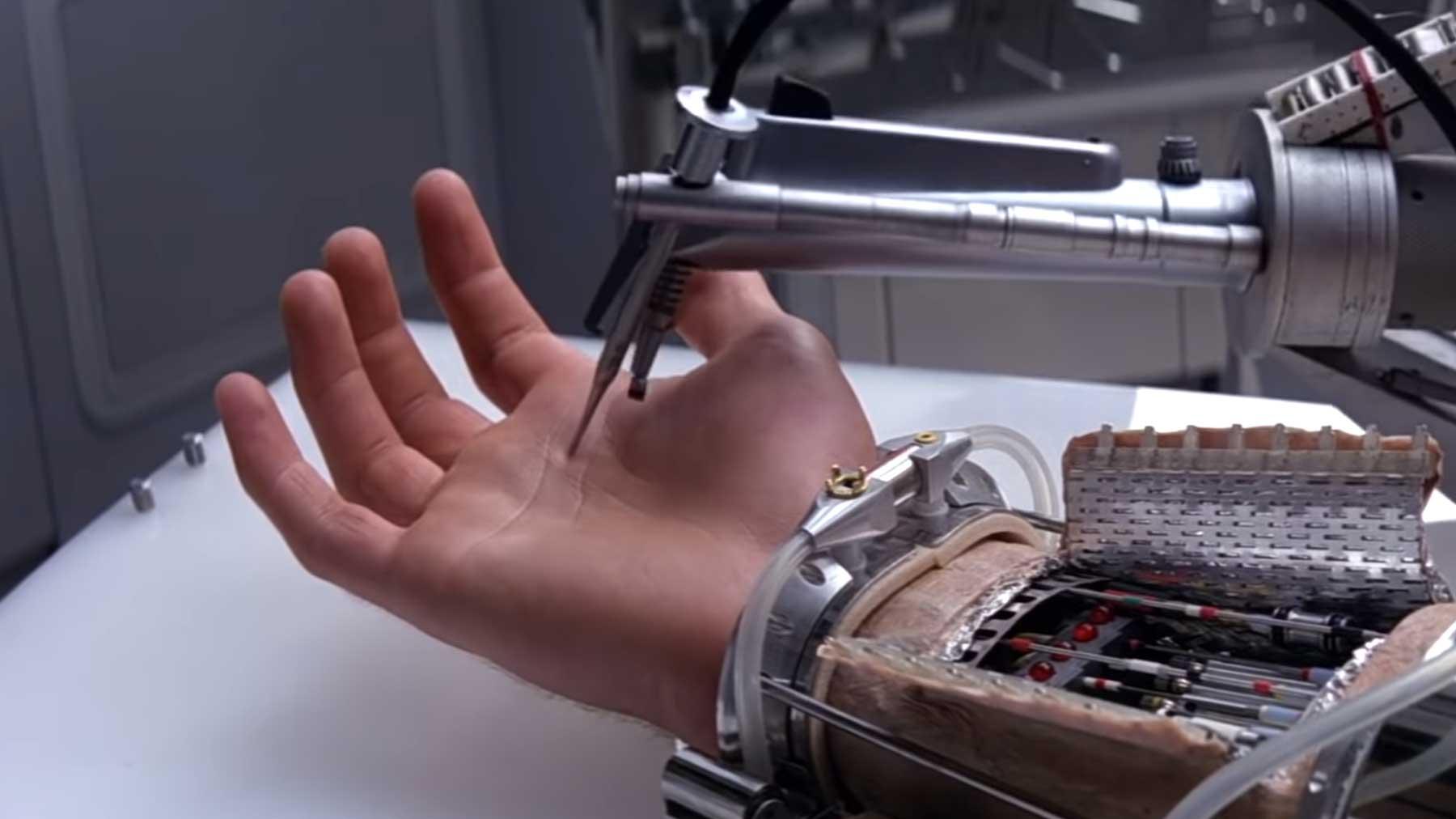 Über den Einsatz von Händen in Filmen
