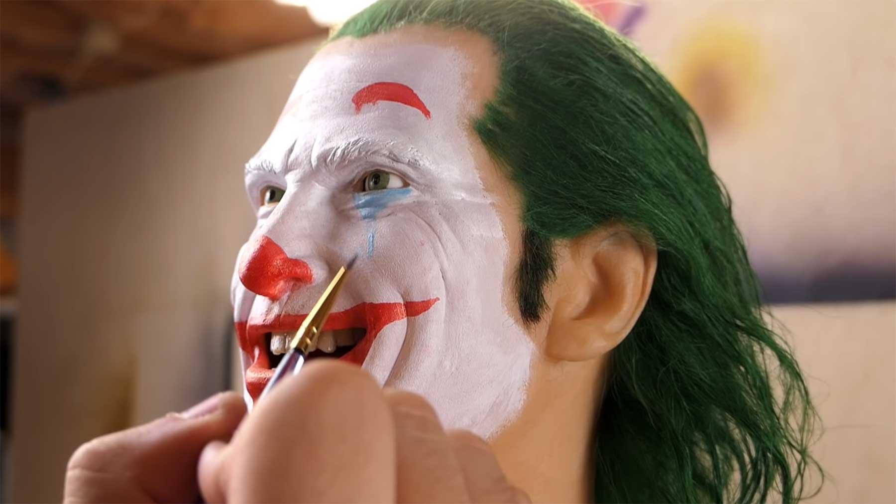 Entstehung einer Joker-Büste
