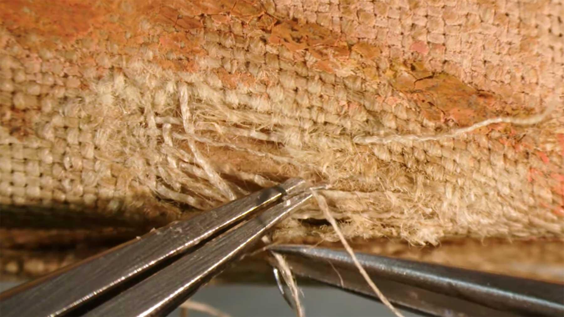 Gemälde-Restauration unterm Mikroskop