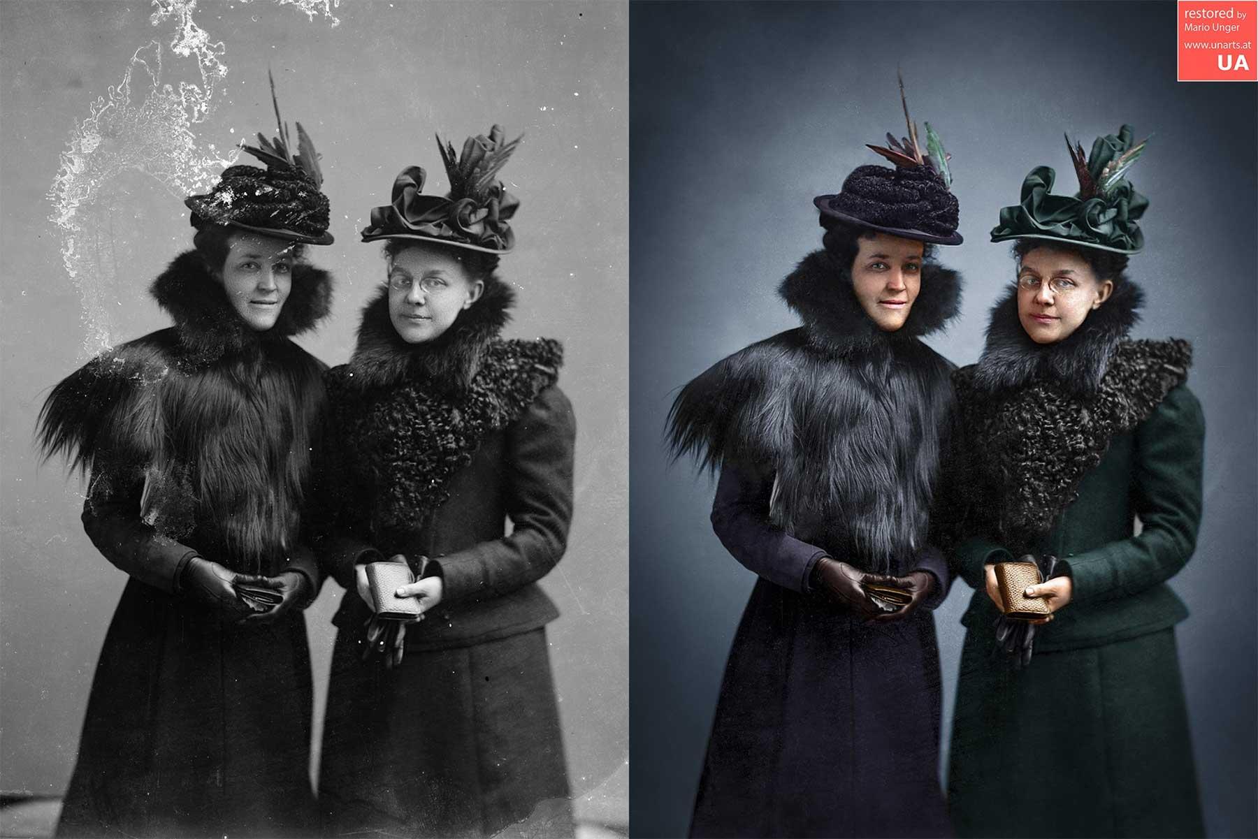 Beeindruckende Foto-Restaurationen von Mario Unger mario-unger-fotorestauration_06