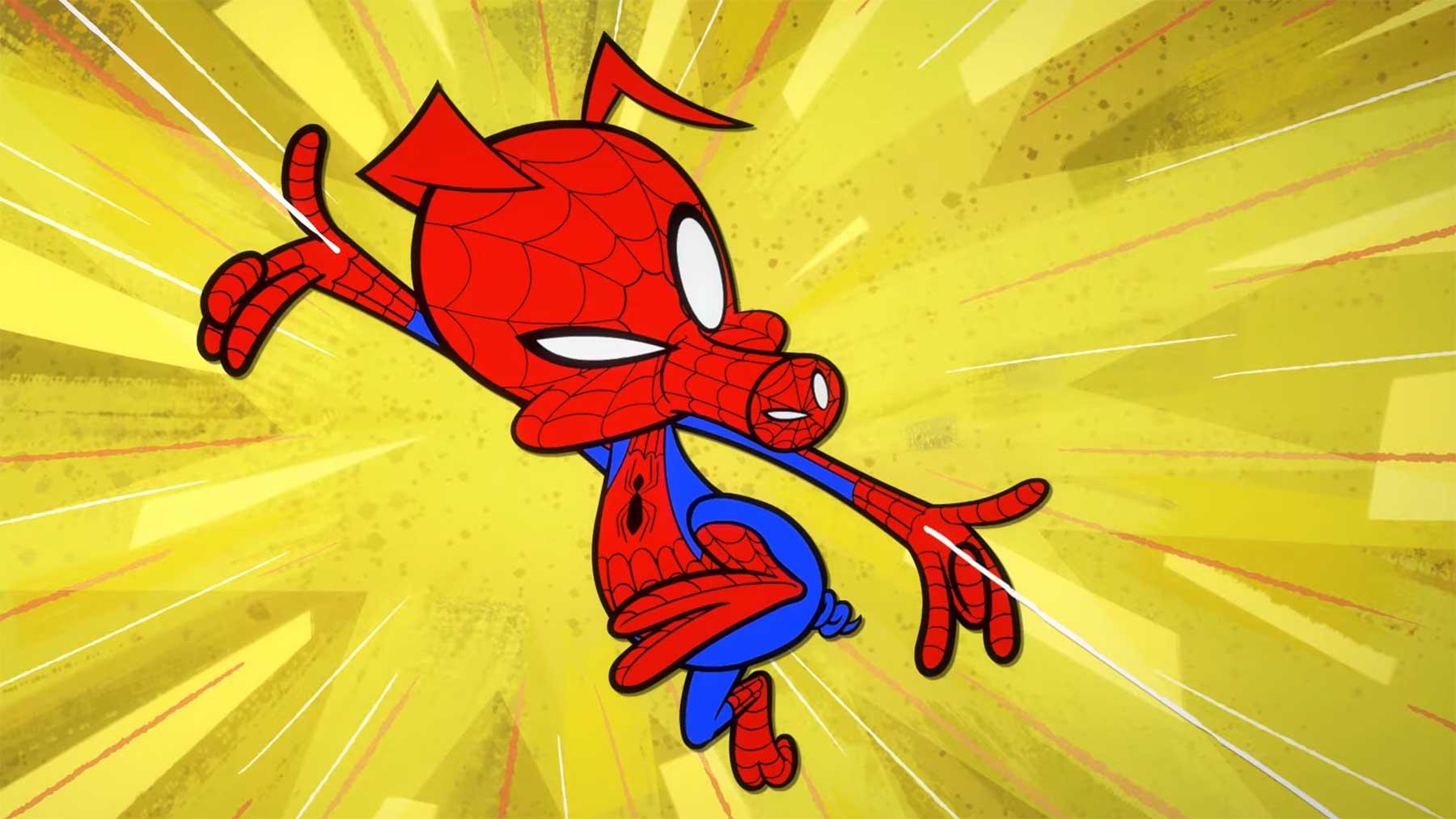 """Kurzfilm: """"Spider-Ham: Caught in a Ham"""""""