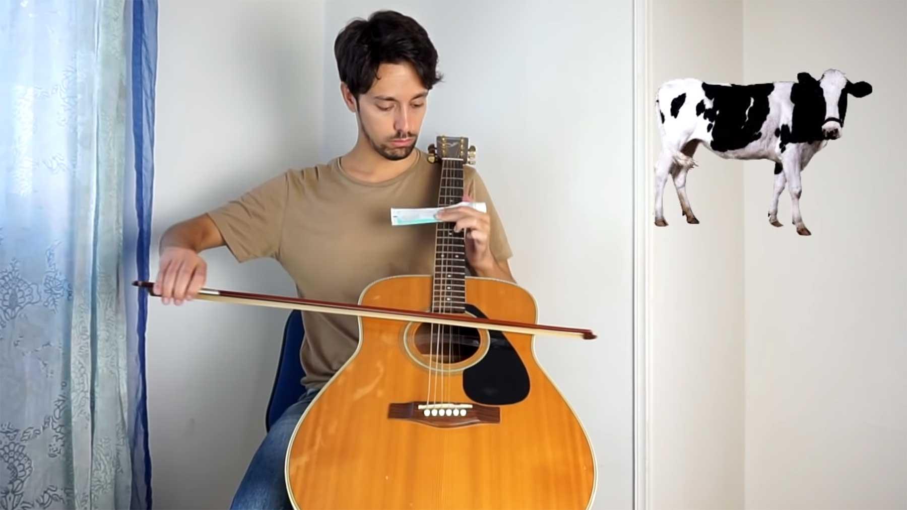 Tiergeräusche auf der Akustikgitarre nachmachen