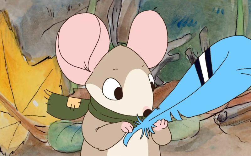 Eine Maus und ihr Traum vom Fliegen