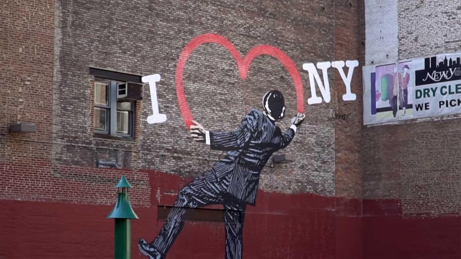 """Die Geschichte hinter dem """"I ❤ NY""""-Claim I-heart-nY-geschichte"""