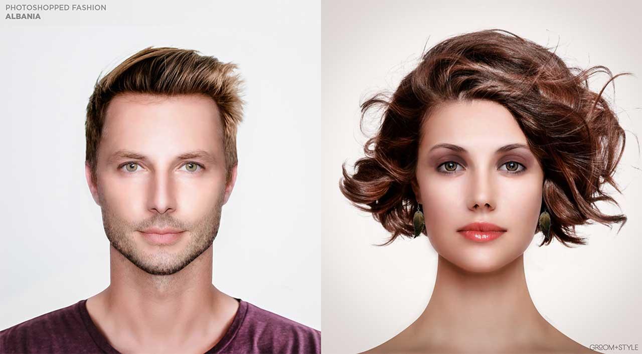 27 Designer haben Portraits nach den Trend-Looks ihrer Länder bearbeitet Photoshopped-Fashion_02