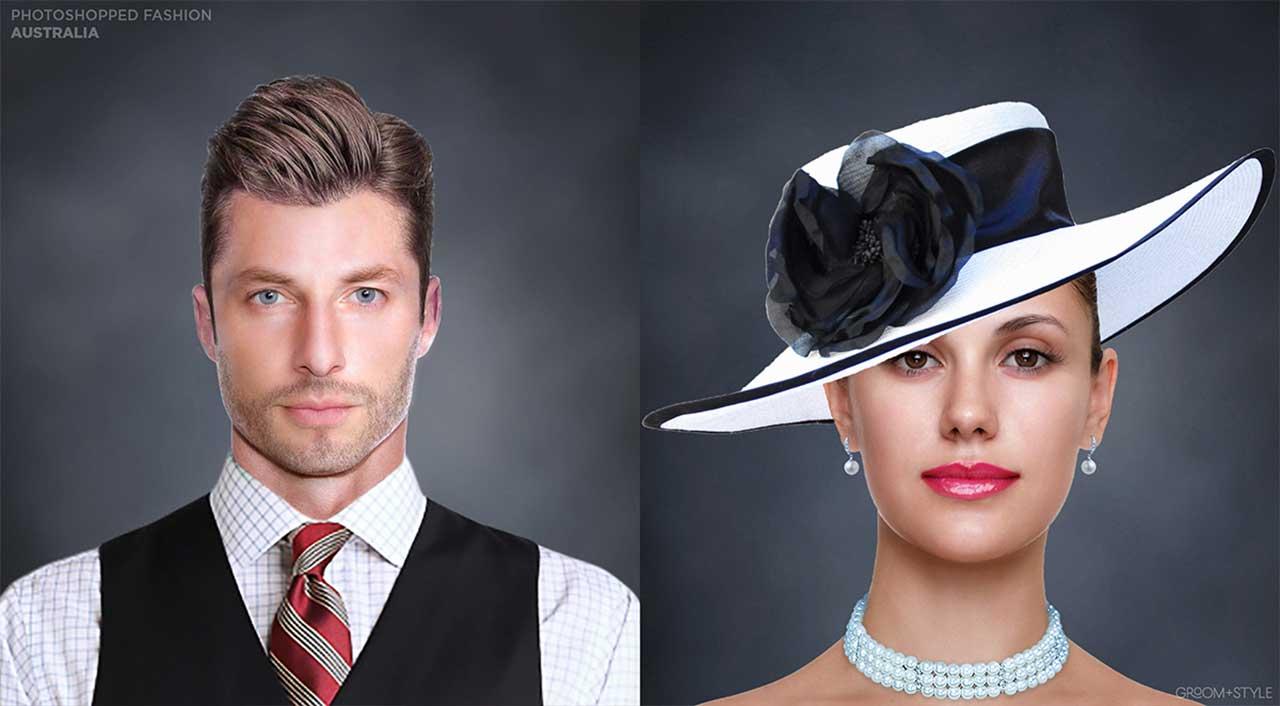 27 Designer haben Portraits nach den Trend-Looks ihrer Länder bearbeitet Photoshopped-Fashion_03