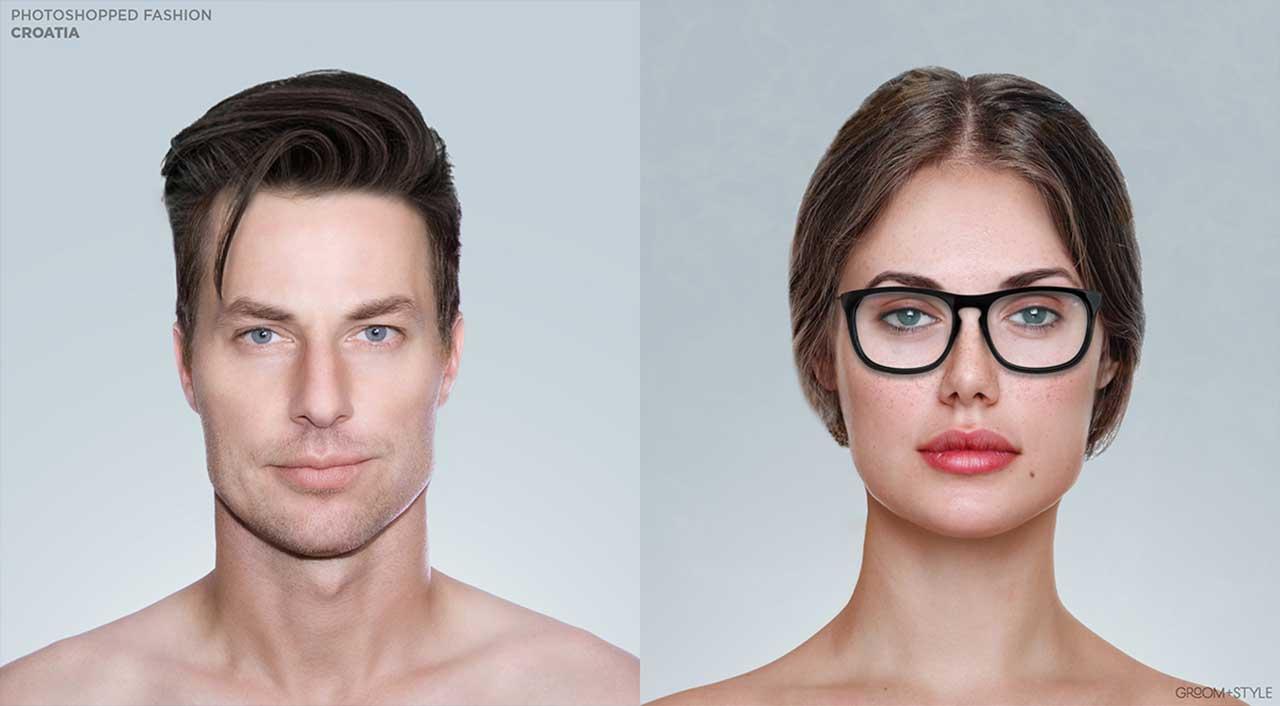 27 Designer haben Portraits nach den Trend-Looks ihrer Länder bearbeitet Photoshopped-Fashion_06
