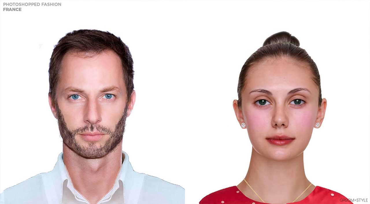 27 Designer haben Portraits nach den Trend-Looks ihrer Länder bearbeitet Photoshopped-Fashion_09