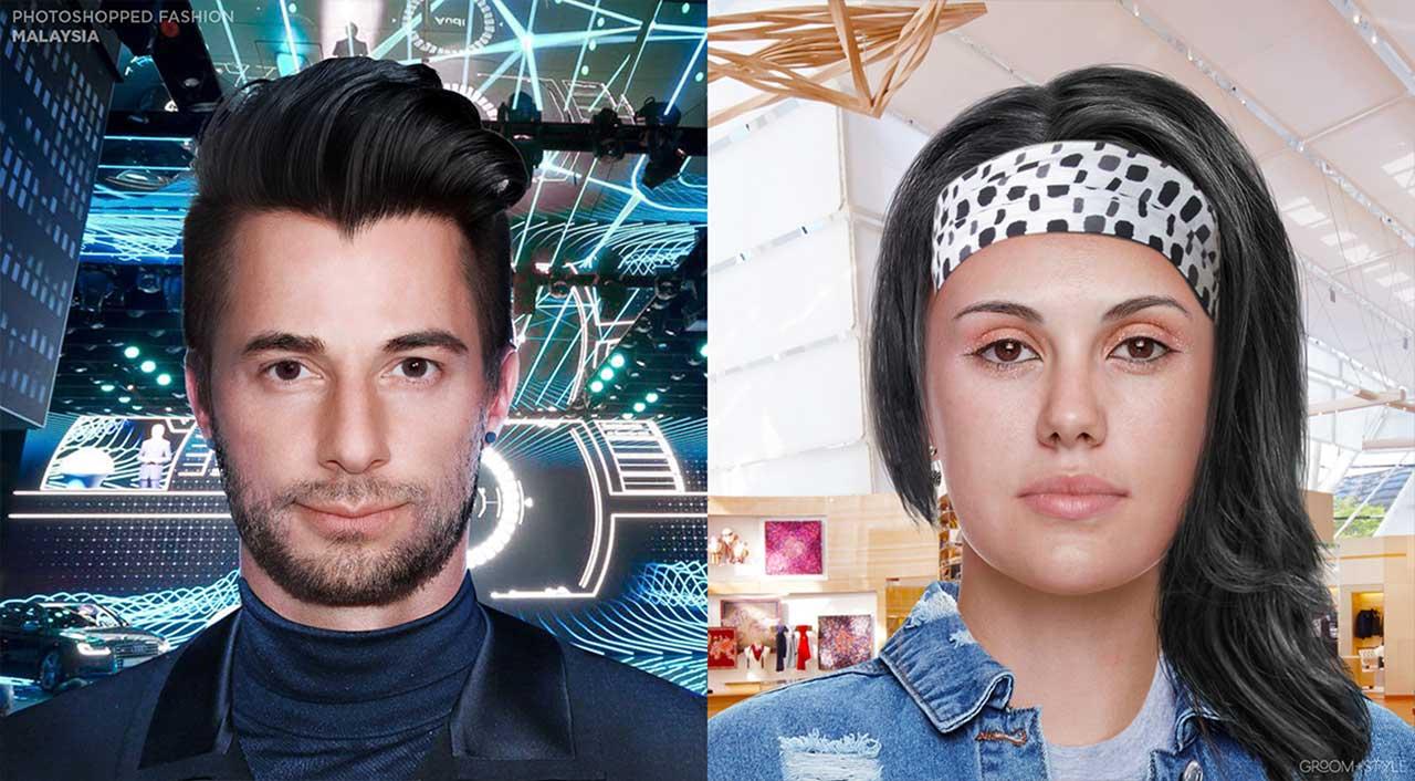27 Designer haben Portraits nach den Trend-Looks ihrer Länder bearbeitet Photoshopped-Fashion_11