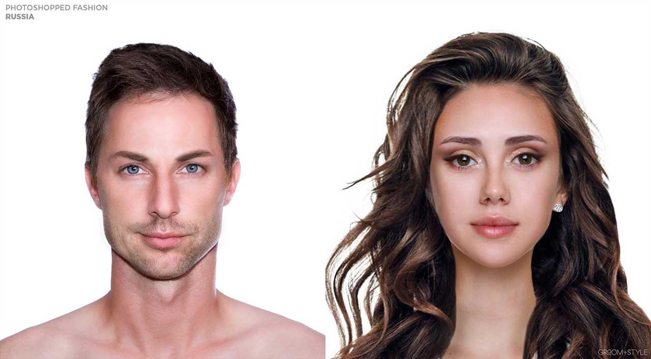 27 Designer haben Portraits nach den Trend-Looks ihrer Länder bearbeitet Photoshopped-Fashion_14