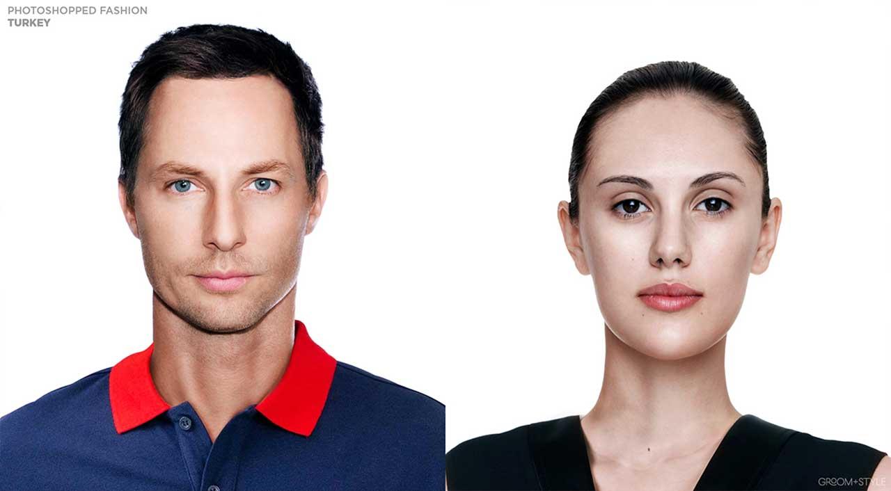 27 Designer haben Portraits nach den Trend-Looks ihrer Länder bearbeitet Photoshopped-Fashion_17