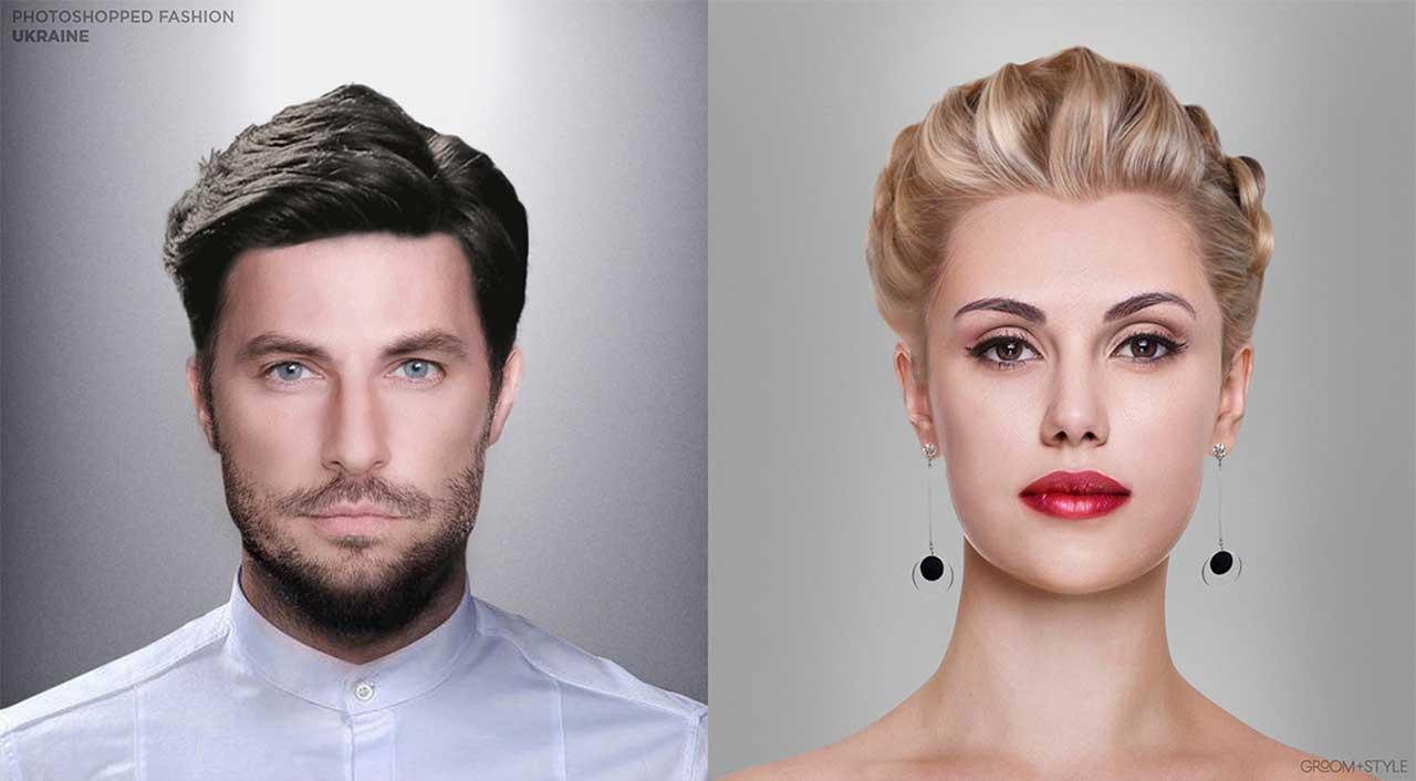 27 Designer haben Portraits nach den Trend-Looks ihrer Länder bearbeitet Photoshopped-Fashion_19