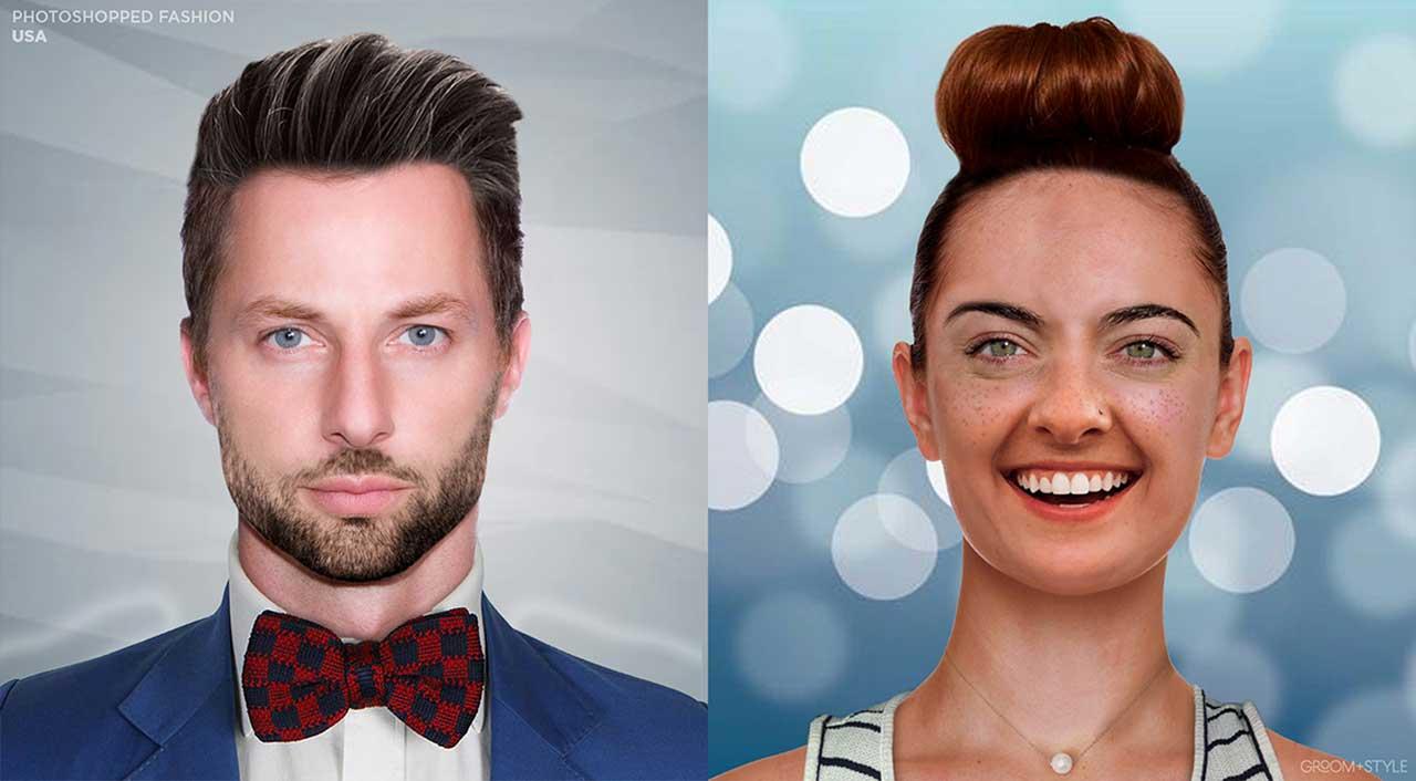 27 Designer haben Portraits nach den Trend-Looks ihrer Länder bearbeitet Photoshopped-Fashion_20