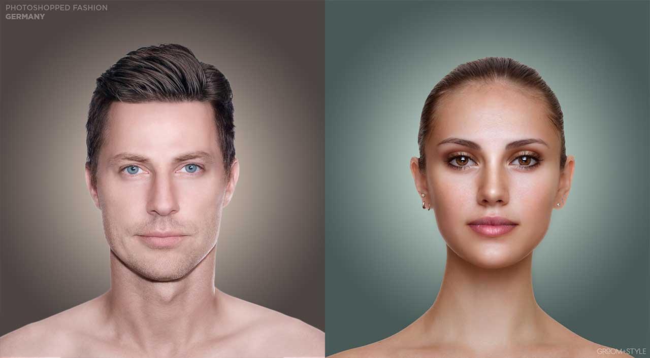 27 Designer haben Portraits nach den Trend-Looks ihrer Länder bearbeitet Photoshopped-Fashion_21