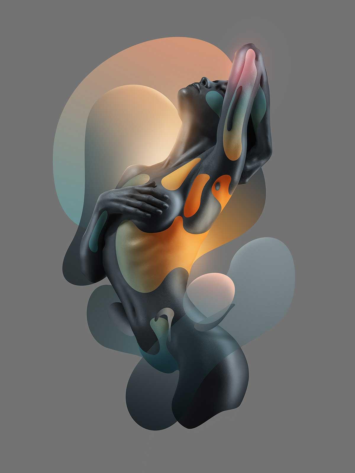 Digitale Kunst von Rik Oostenbroek Rik-Oostenbroek-human-fluidity_01