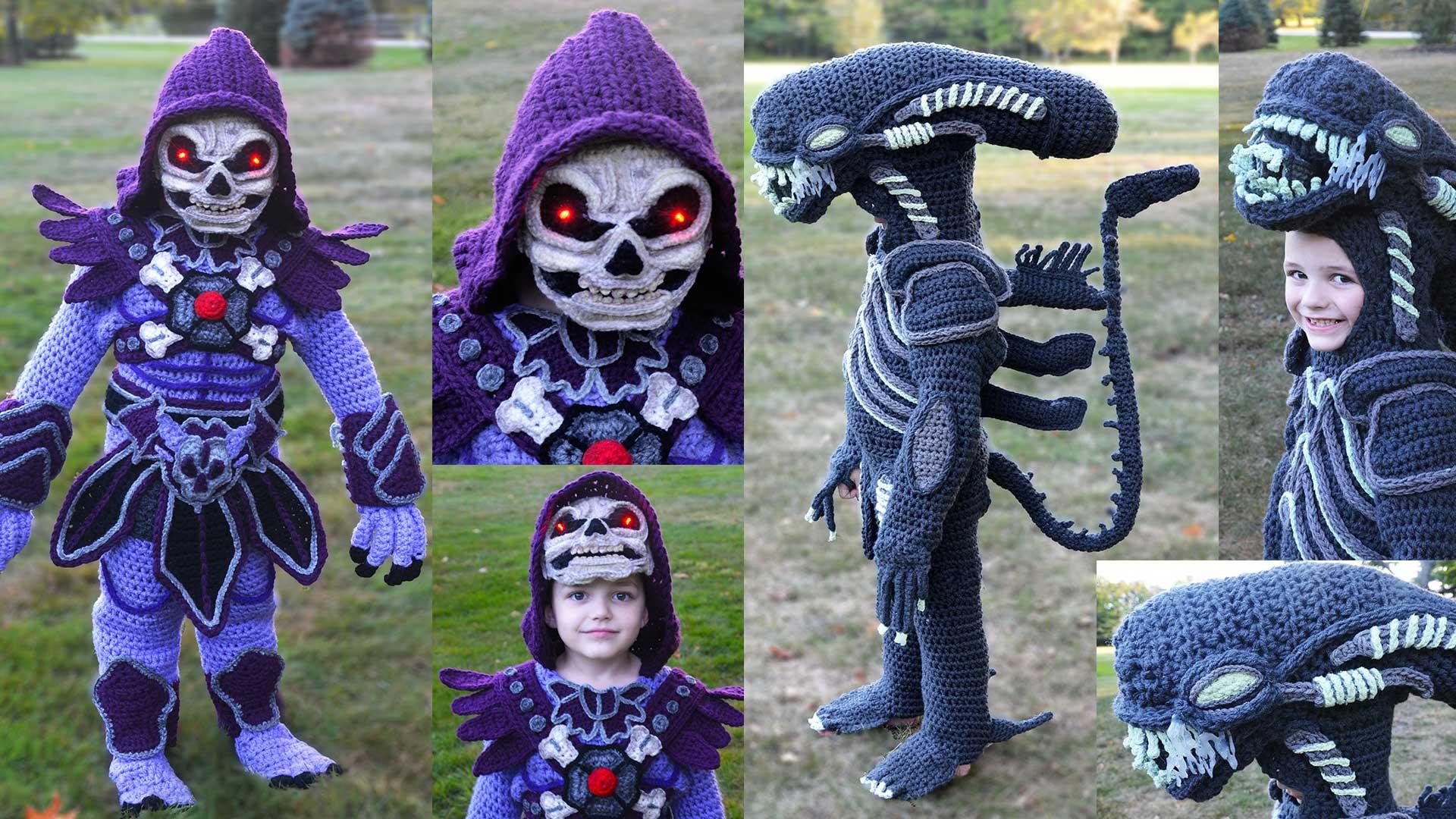 Gehäkelte Kostüme von Crochetverse