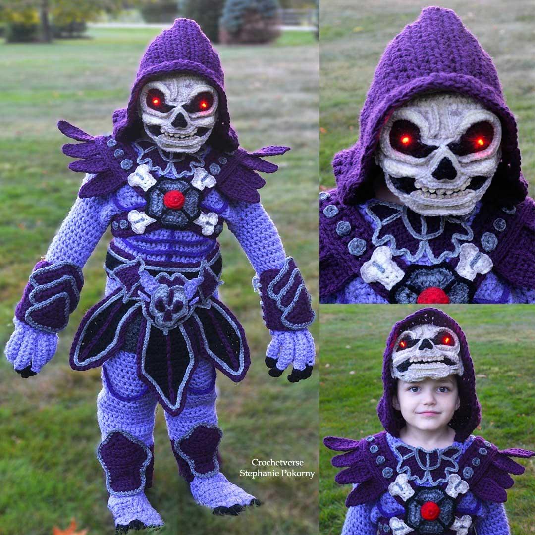 Gehäkelte Kostüme von Crochetverse Stephanie-Pokorny-crochetverse-gehaekelte-verkleidungen_04