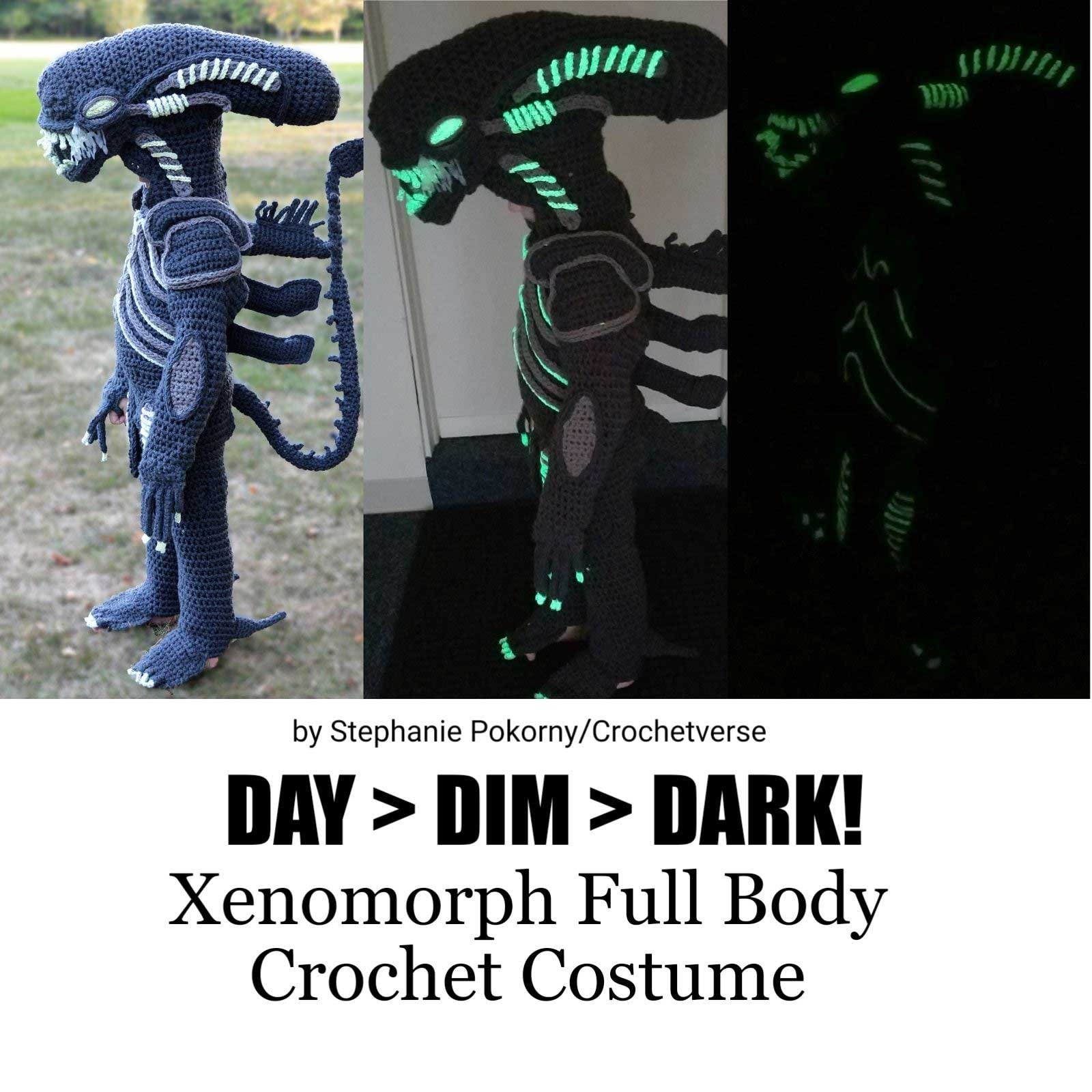 Gehäkelte Kostüme von Crochetverse Stephanie-Pokorny-crochetverse-gehaekelte-verkleidungen_08