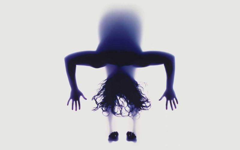Yoga-Posen von Unten
