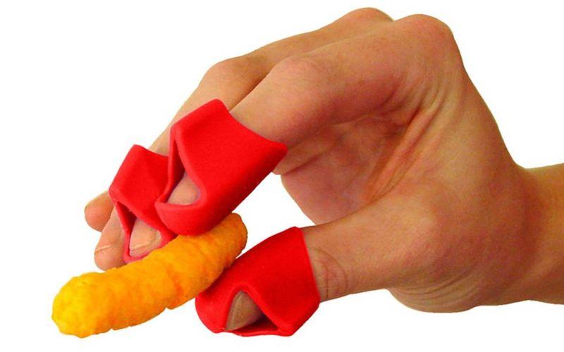 Diese Erfindung hält eure Finger beim Snacken sauber