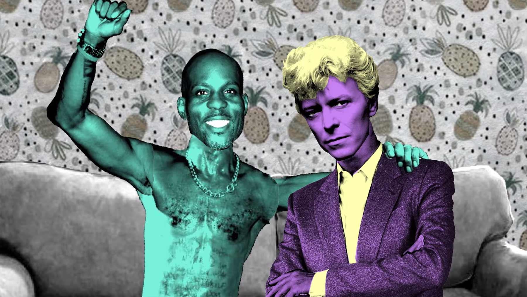 David Bowie trifft DMX