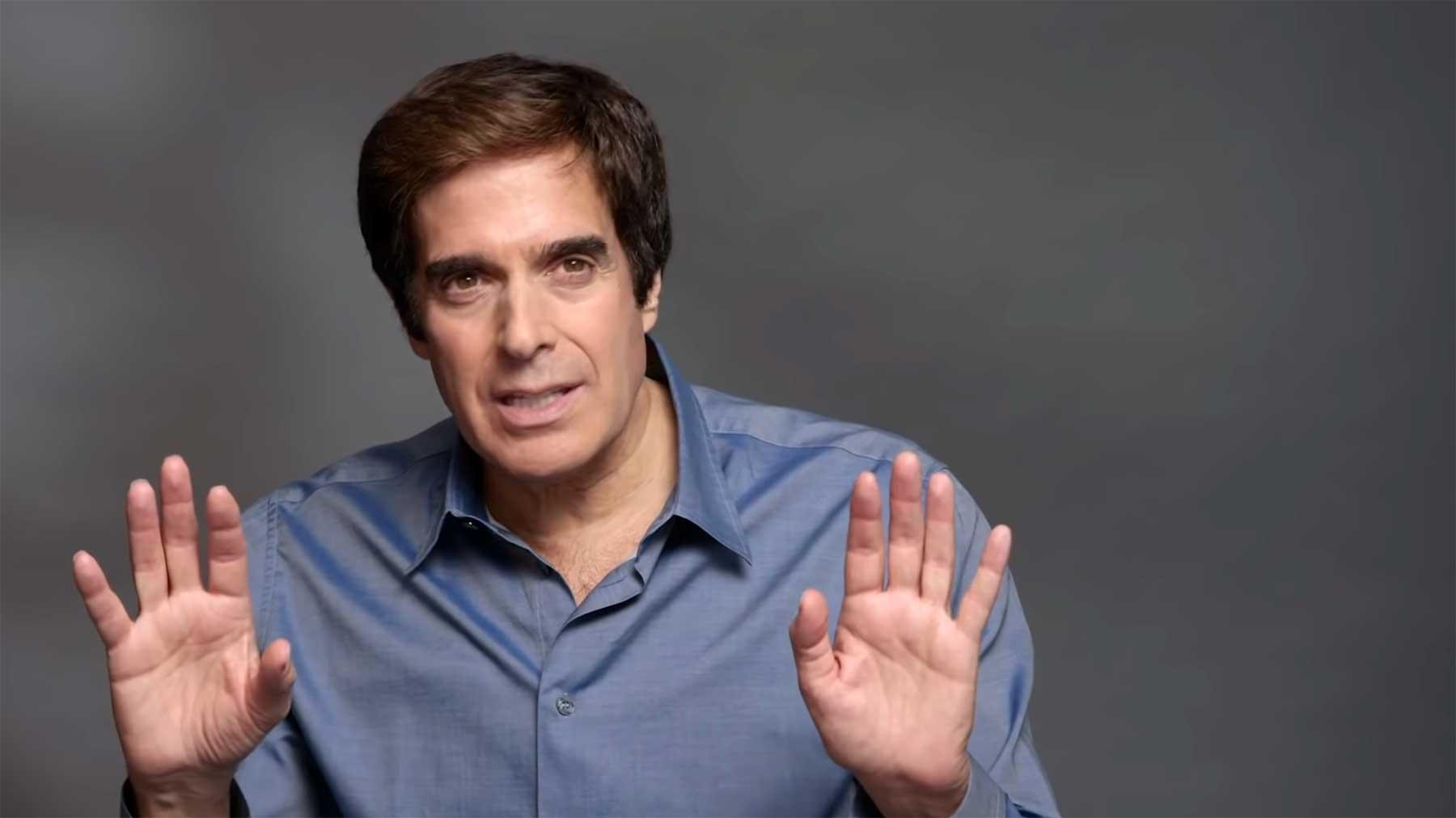 David Copperfield redet über seine größten Zaubertricks