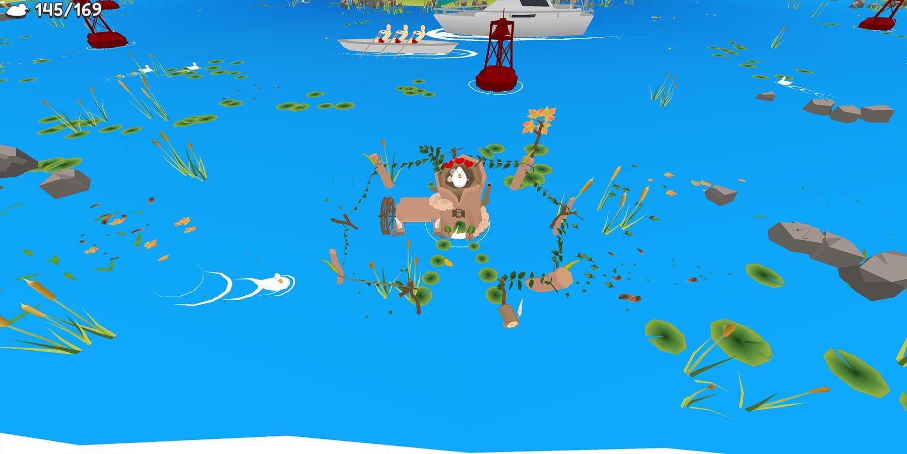 Ducklings.io lässt euch entspannt Enten-Familie spielen ducklings-browsergame_02