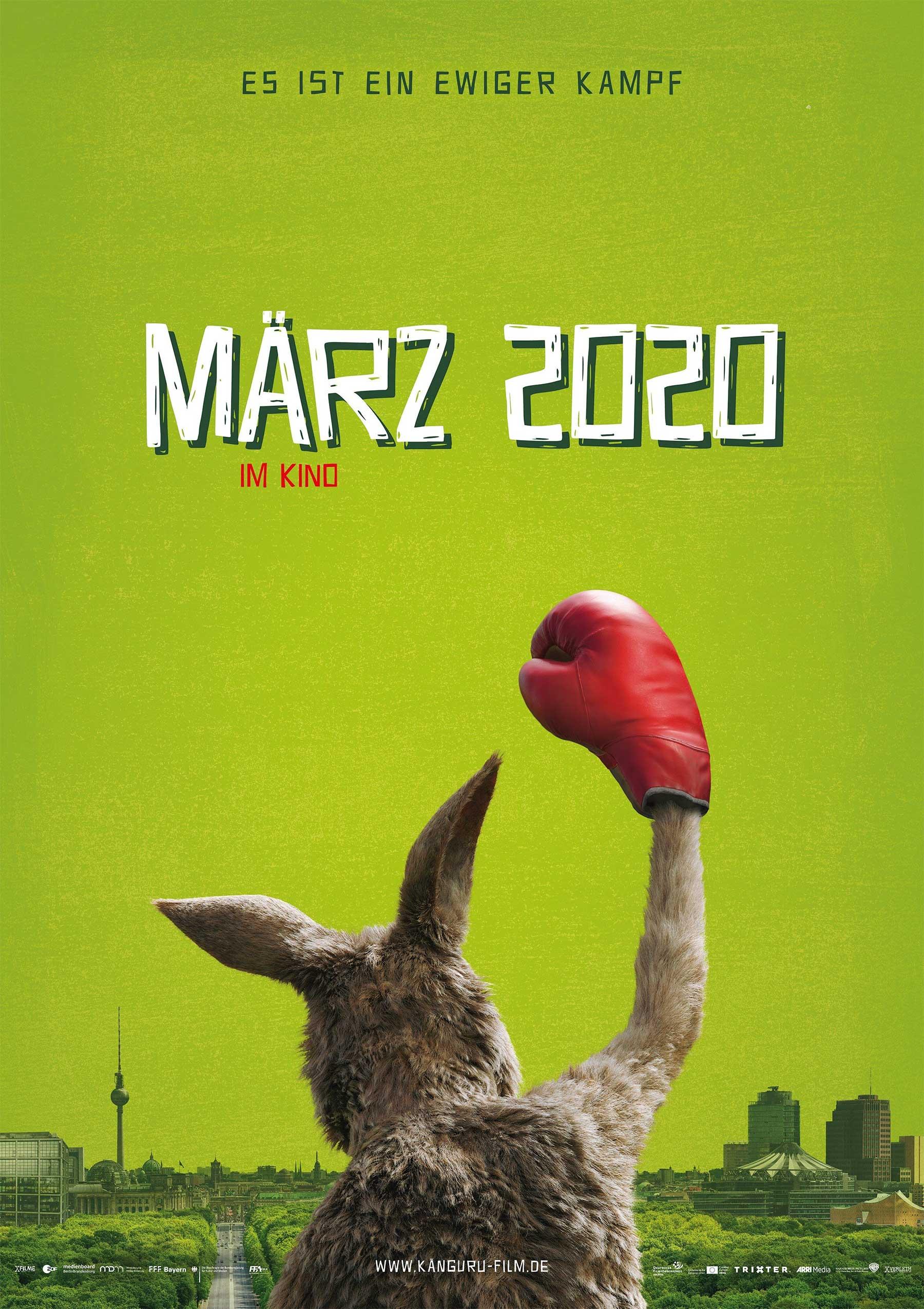 """Die Känguru-Chroniken"": Kinofilmstart ist am 5. März 2020 kaenguru-film-marc-uwe-kling_poster"
