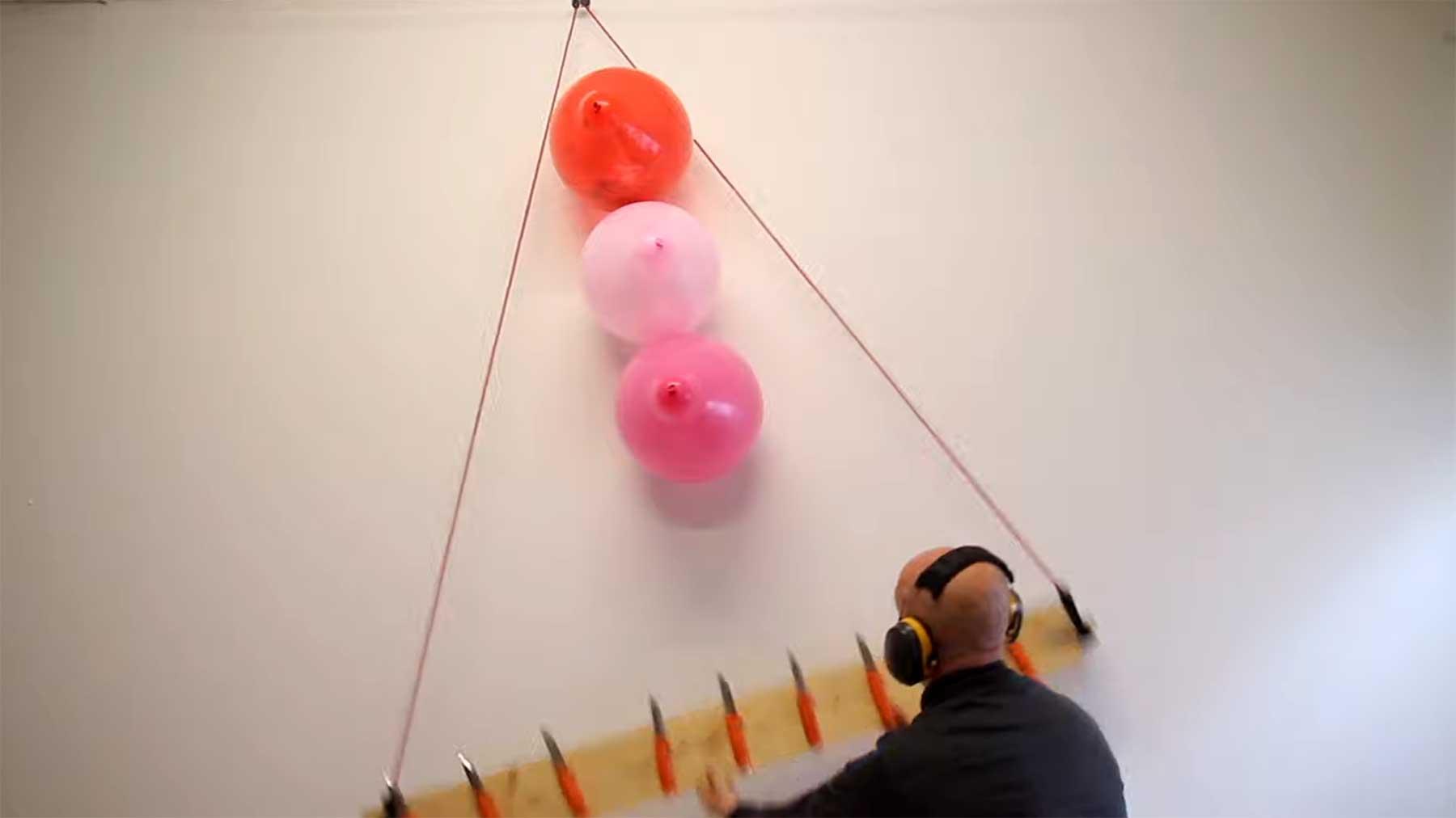 Neue originelle Ballon-Zerstörungen von Jan Hakon Erichsen luftballons-kreativ-zum-platzen-bringen
