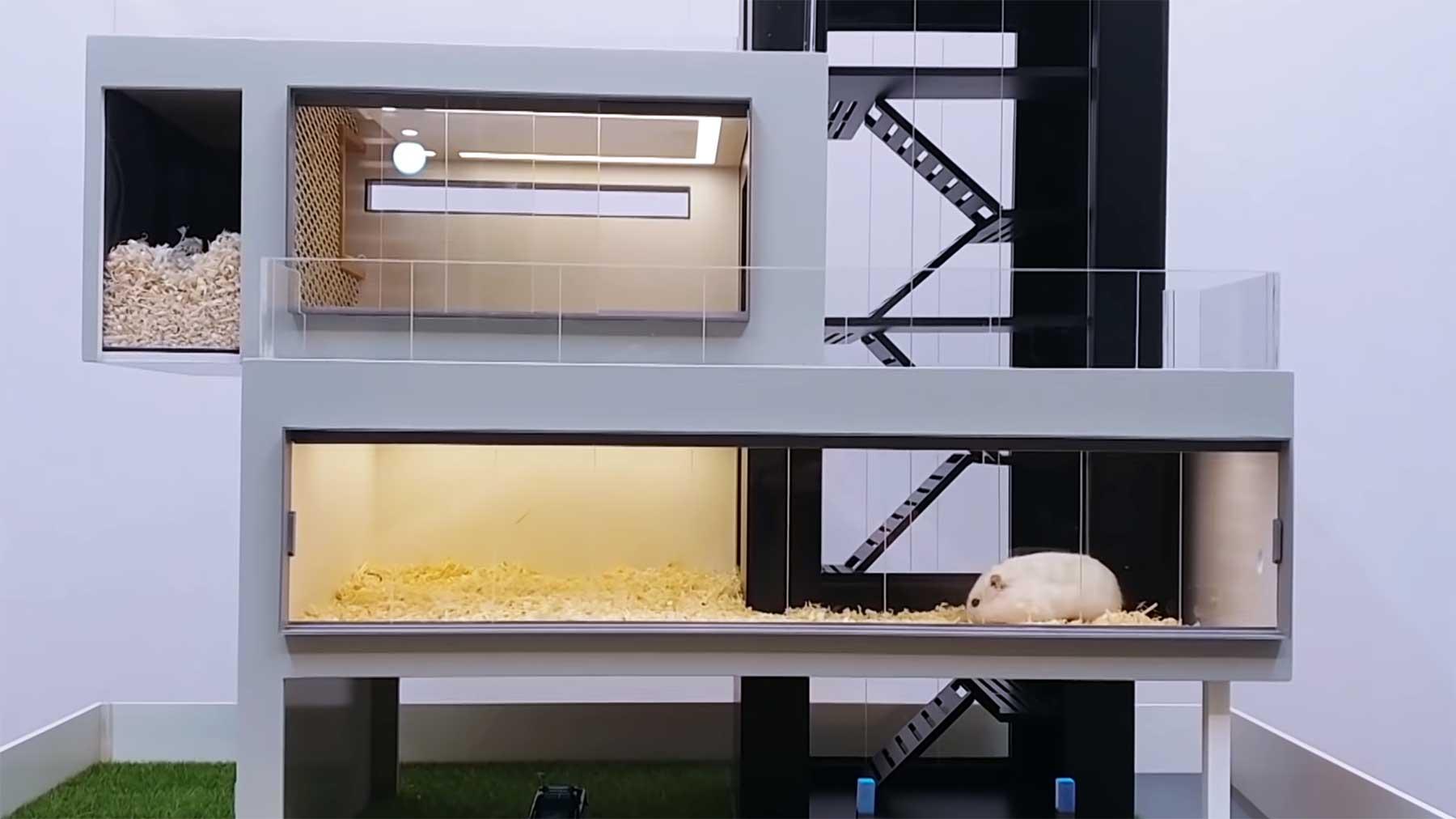 Luxus-Villen für Hamster