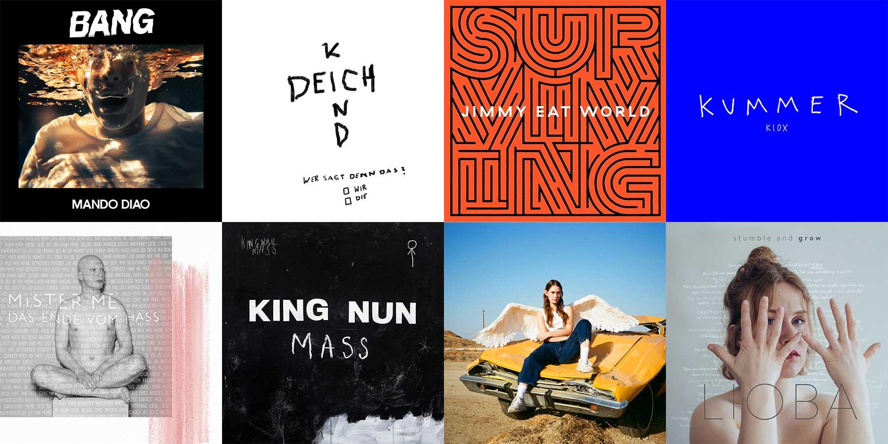 Kurzreviews: Neue Musikalben im Oktober 2019 musikalben-oktober-kurzreviews