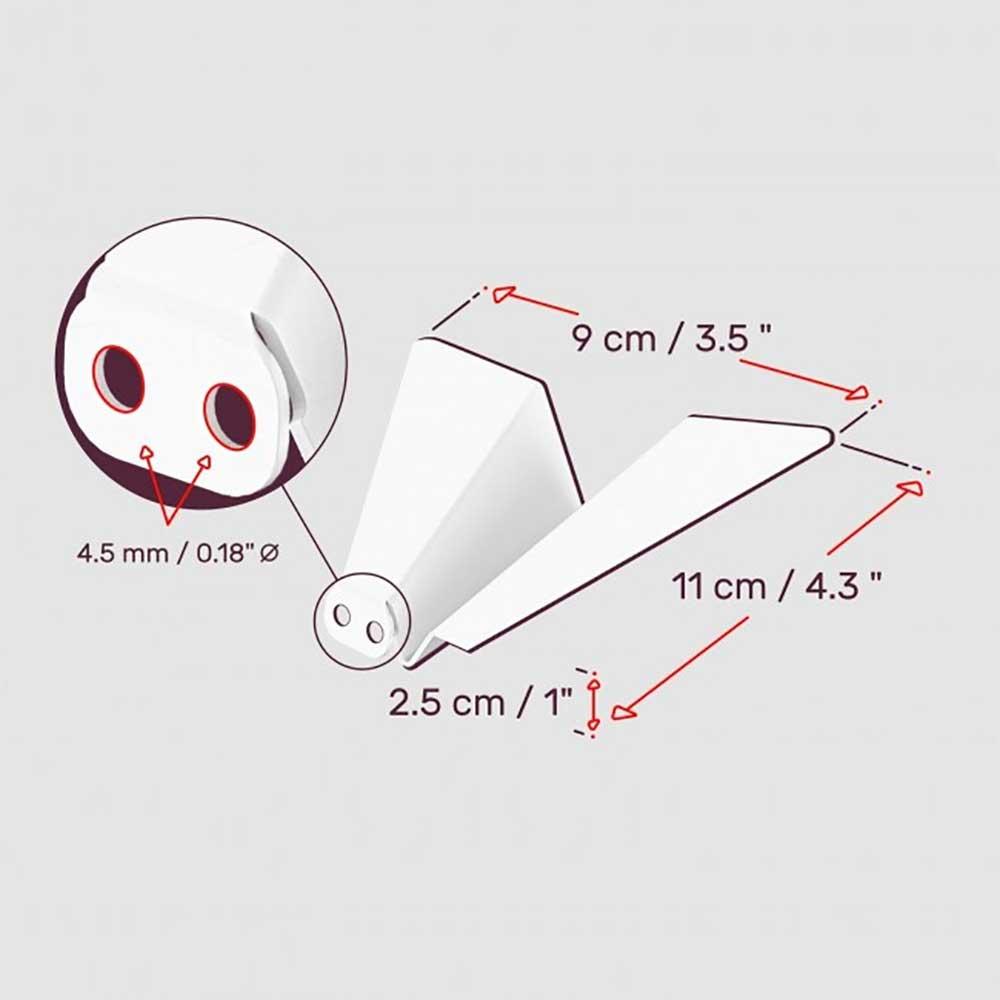 Papierflieger-Kleiderhaken papierflieger-wandhaenger-kleiderhaken_paper-planes_wall-hangers_03
