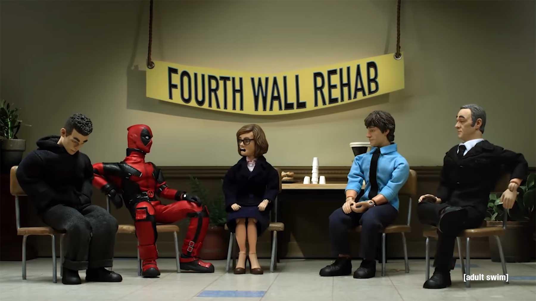 """Selbsthilfegruppe der """"Vierte Wand""""-Durchbrecher"""